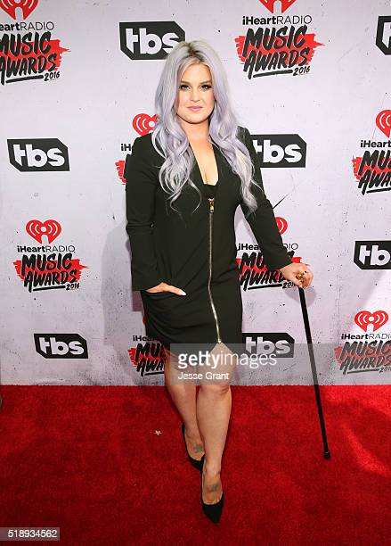 TV personality Kelly Osbourne attends the iHeartRadio Music Awards at The Forum on April 3 2016 in Inglewood California