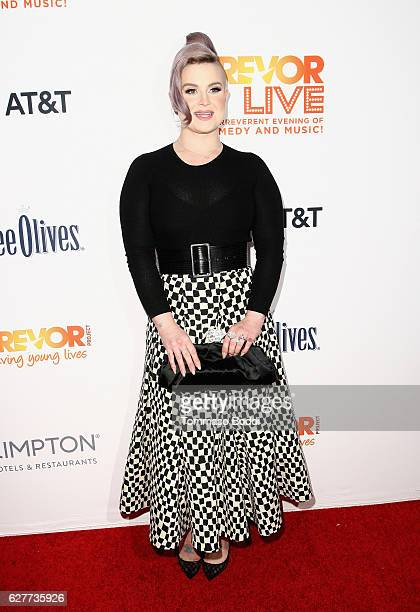 TV personality Kelly Osbourne attends The Trevor Project's 2016 TrevorLIVE LA at The Beverly Hilton Hotel on December 4 2016 in Beverly Hills...