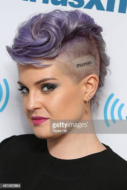 TV personality Kelly Osbourne visits the SiriusXM Studios on July 1 2014 in New York City