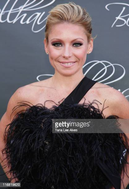 TV personality Kelly Ripa attends the Grand Opening Celebration Of Luxury Boutique Bellhaus on May 24 2008 in Wainscott New York