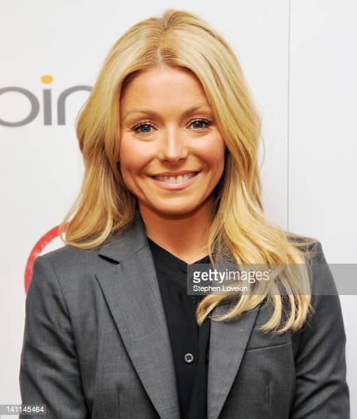 TV personality Kelly Ripa attends The Weinstein Company Bing screening Of Bully at Crosby Street Hotel on March 11 2012 in New York City