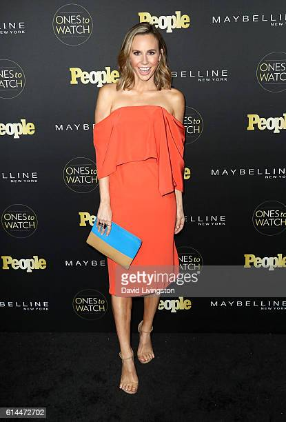 TV personality Keltie Knight arrives at People's Ones to Watch at EP LP on October 13 2016 in West Hollywood California