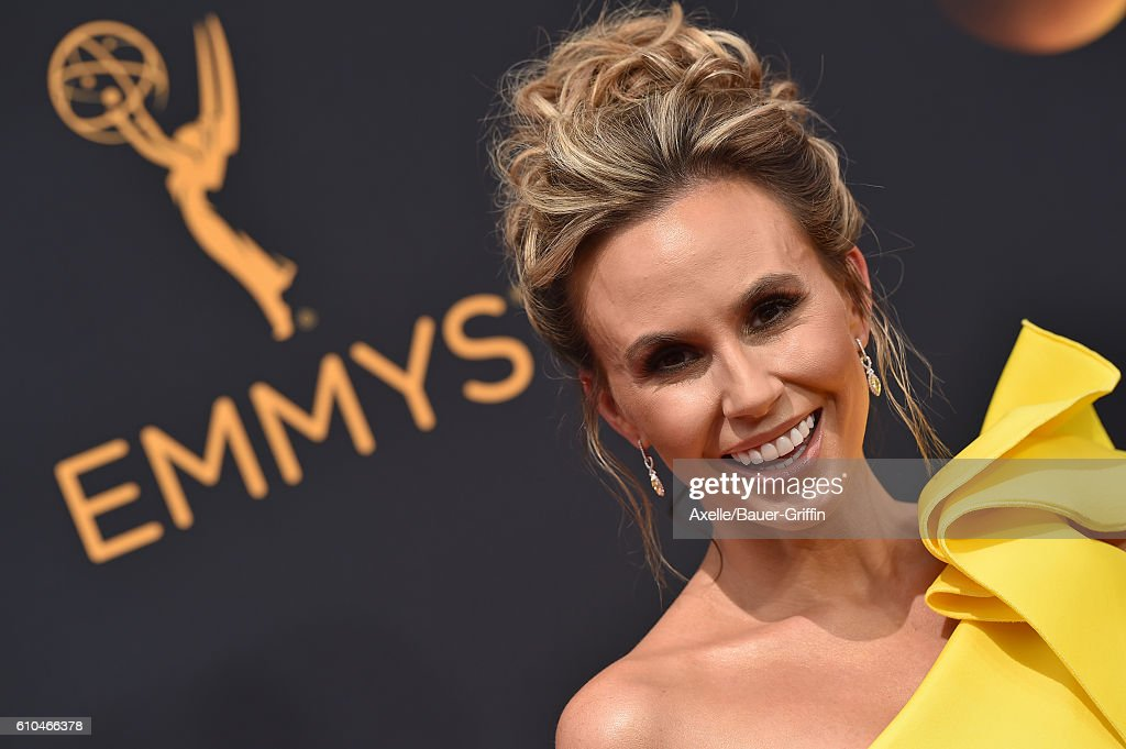 TV personality Keltie Knight arrives at the 68th Annual Primetime Emmy Awards at Microsoft Theater on September 18, 2016 in Los Angeles, California.