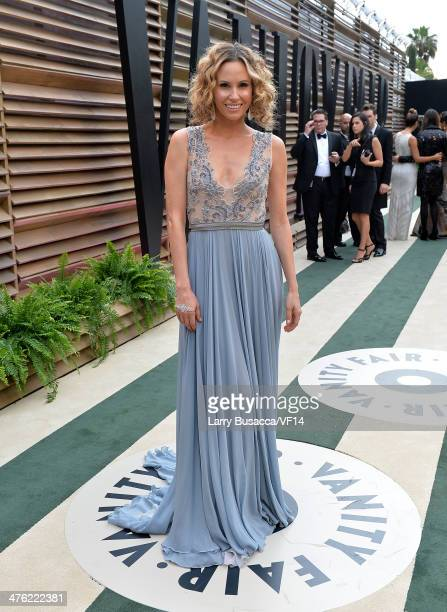 TV personality Keltie Knight attends the 2014 Vanity Fair Oscar Party Hosted By Graydon Carter on March 2 2014 in West Hollywood California