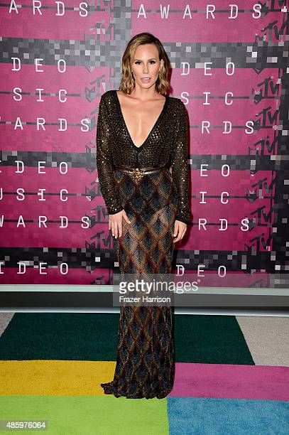 TV personality Keltie Knight attends the 2015 MTV Video Music Awards at Microsoft Theater on August 30 2015 in Los Angeles California