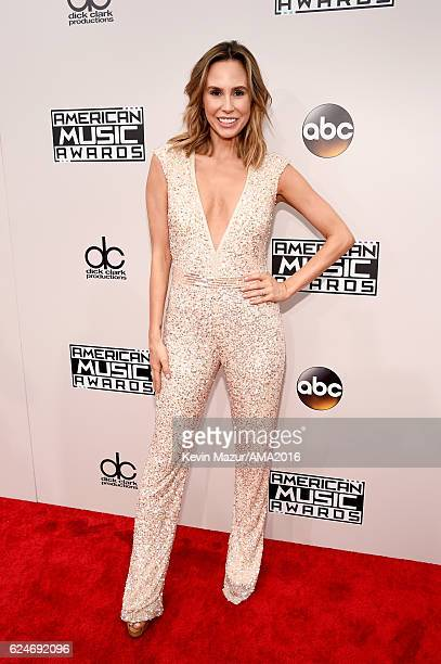 TV personality Keltie Knight attends the 2016 American Music Awards at Microsoft Theater on November 20 2016 in Los Angeles California