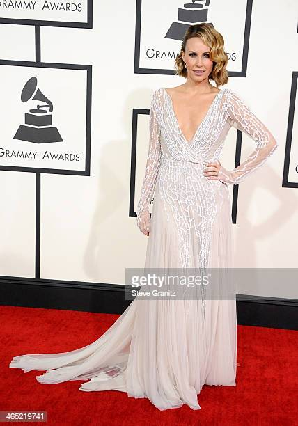 TV personality Keltie Knight attends the 56th GRAMMY Awards at Staples Center on January 26 2014 in Los Angeles California