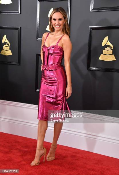 Personality Keltie Knight attends The 59th GRAMMY Awards at STAPLES Center on February 12 2017 in Los Angeles California