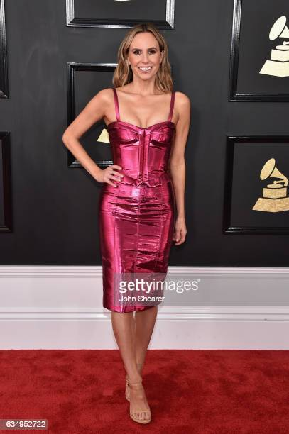 TV personality Keltie Knight attends The 59th GRAMMY Awards at STAPLES Center on February 12 2017 in Los Angeles California