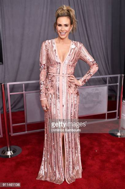 TV personality Keltie Knight attends the 60th Annual GRAMMY Awards at Madison Square Garden on January 28 2018 in New York City