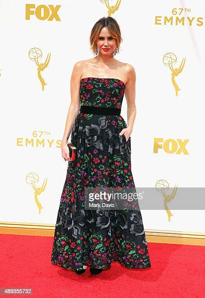 TV personality Keltie Knight attends the 67th Annual Primetime Emmy Awards at Microsoft Theater on September 20 2015 in Los Angeles California