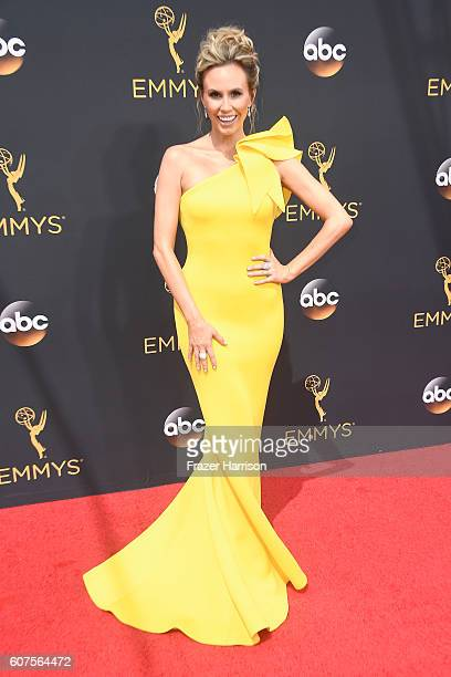 TV personality Keltie Knight attends the 68th Annual Primetime Emmy Awards at Microsoft Theater on September 18 2016 in Los Angeles California