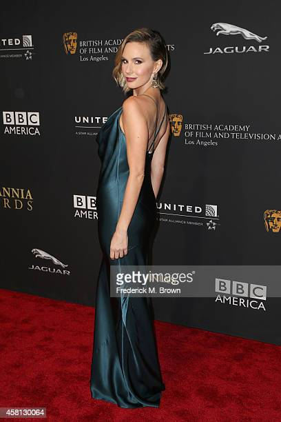 TV personality Keltie Knight attends the BAFTA Los Angeles Jaguar Britannia Awards presented by BBC America and United Airlines at The Beverly Hilton...