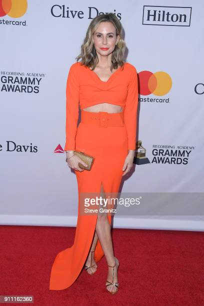 TV personality Keltie Knight attends the Clive Davis and Recording Academy PreGRAMMY Gala and GRAMMY Salute to Industry Icons Honoring JayZ on...