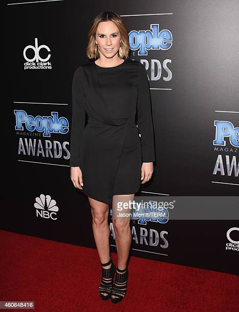 TV personality Keltie Knight attends the PEOPLE Magazine Awards at The Beverly Hilton Hotel on December 18 2014 in Beverly Hills California