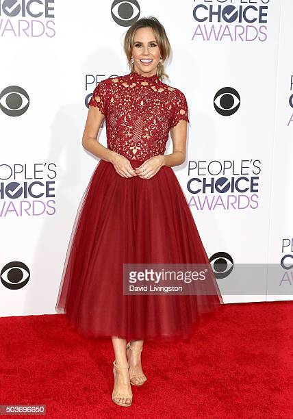 TV personality Keltie Knight attends the People's Choice Awards 2016 at Microsoft Theater on January 6 2016 in Los Angeles California