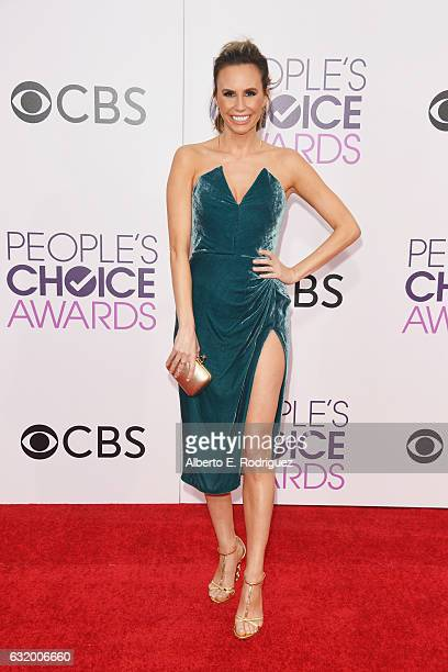 TV personality Keltie Knight attends the People's Choice Awards 2017 at Microsoft Theater on January 18 2017 in Los Angeles California