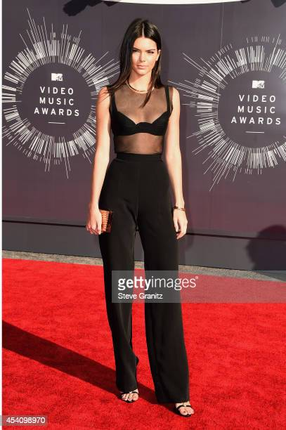 TV personality Kendall Jenner attends the 2014 MTV Video Music Awards at The Forum on August 24 2014 in Inglewood California