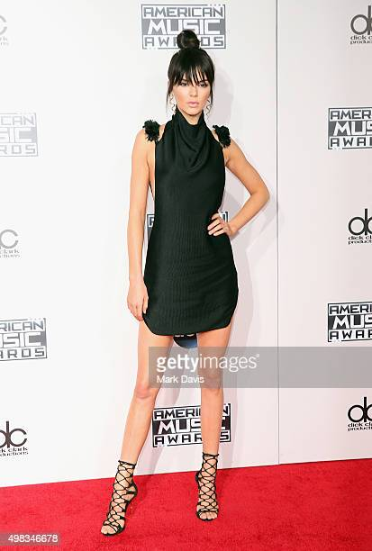 TV personality Kendall Jenner attends the 2015 American Music Awards at Microsoft Theater on November 22 2015 in Los Angeles California