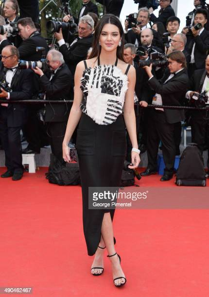 TV personality Kendall Jenner attends the opening ceremony and Grace of Monaco premiere at the 67th Annual Cannes Film Festival on May 14 2014 in...