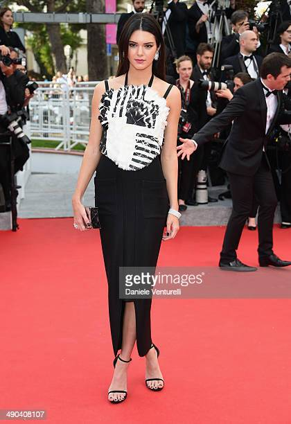 TV personality Kendall Jenner attends the Opening Ceremony and the 'Grace of Monaco' premiere during the 67th Annual Cannes Film Festival on May 14...