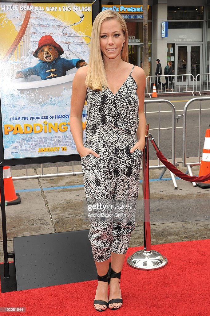 TV personality Kendra Wilkinson arrives at the Los Angeles premiere of 'Paddington' at TCL Chinese Theatre IMAX on January 10, 2015 in Hollywood, California.