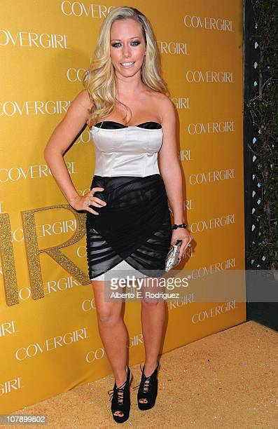 Personality Kendra Wilkinson arrives to Covergirl Cosmetic's 50th Anniversary Party on January 5, 2011 in West Hollywood, California.