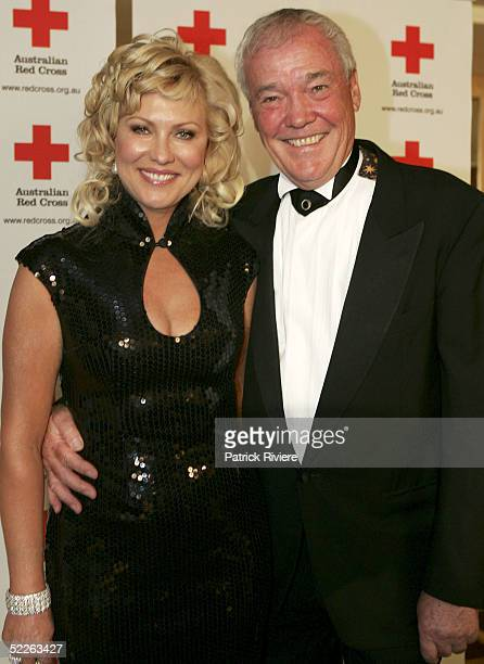 TV personality KerriAnne Kennerley and her husband John Kennerley attend the Australian Red Cross 90th Anniversary Gala at the Westin Hotel March 2...