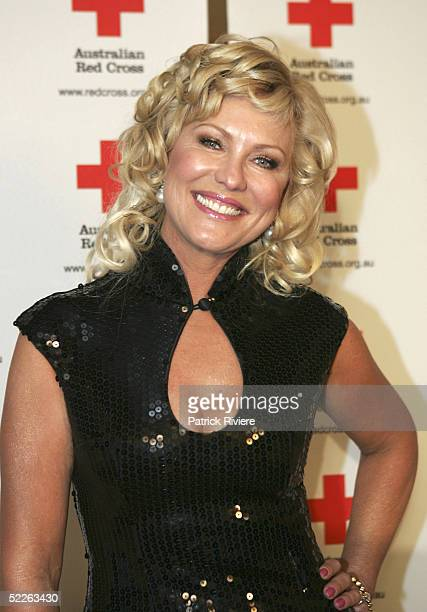 TV personality KerriAnne Kennerley attends the Australian Red Cross 90th Anniversary Gala at the Westin Hotel March 2 2005 in Sydney Australia