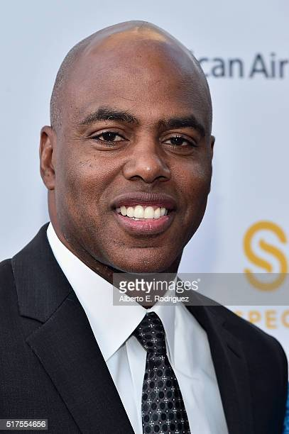TV personality Kevin Frazier attends the CedarsSinai Sports Spectacular at W Los Angeles – West Beverly Hills on March 25 2016 in Los Angeles...