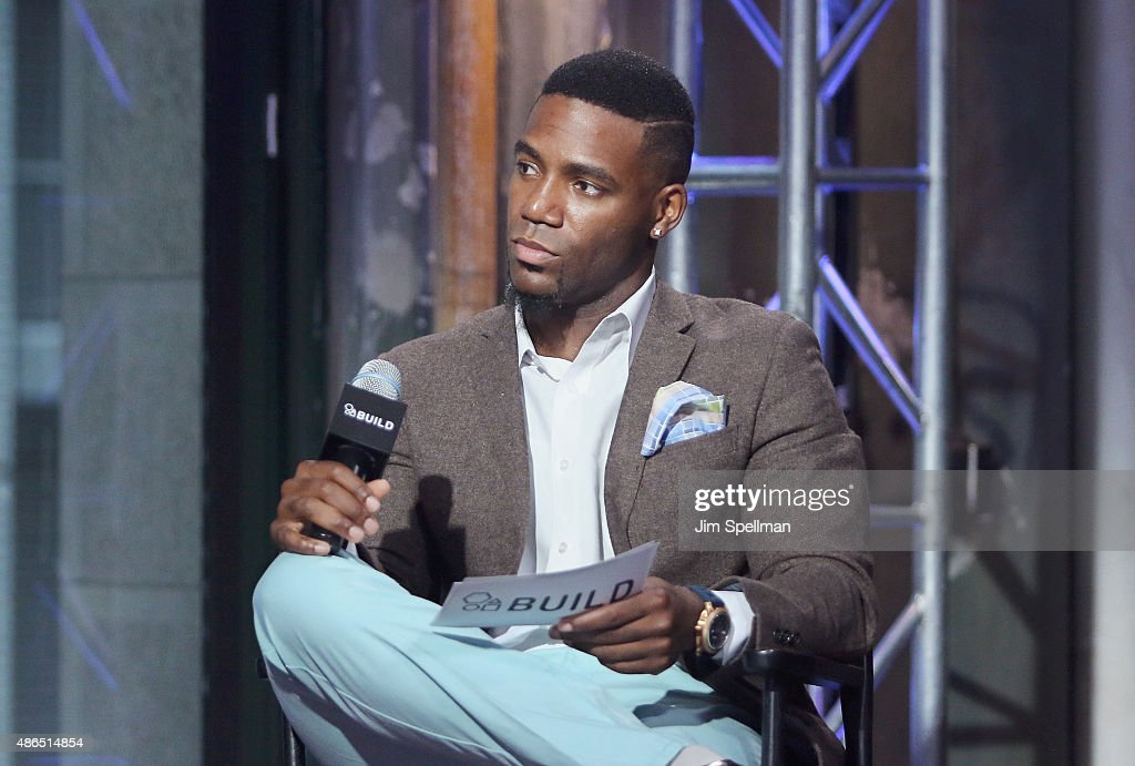 TV personality Kevin Thompson attends the AOL BUILD Speaker Series: Steve Harvey at AOL Studios In New York on September 4, 2015 in New York City.