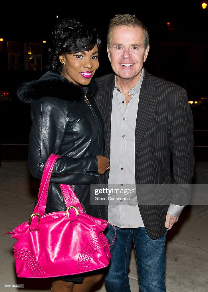 TV Personality Kharisma McIlwaine and Fox 29 'Good Day' Philadelphia co-anchor Mike Jerrick attend An Evening With 7, at 7, On the 7th at on January 7, 2013 in Philadelphia City.