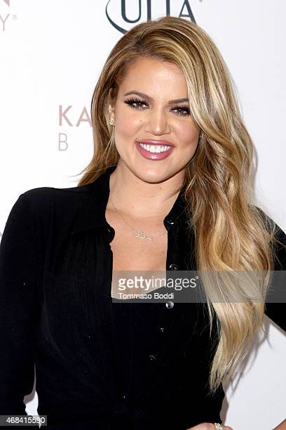 TV personality Khloe Kardashian appears at ULTA Beauty's West Hills store to promote Kardashian Beauty Hair Care and styling line held at ULTA Beauty...
