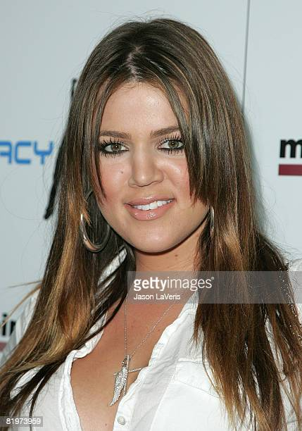TV personality Khloe Kardashian attends The 2nd Annual Matt Leinart Celebrity Bowling Night Benefit at Lucky Strike Lanes on July 17 2008 in...