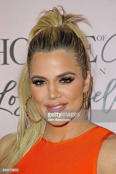 TV personality Khloe Kardashian attends the House of CB Flagship Store Launch party at the House of CB on June 14 2016 in West Hollywood California