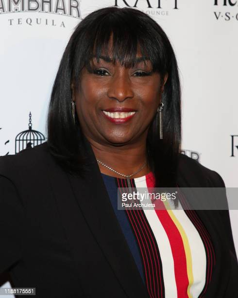 Personality Kiki Shepard attends the media night preview of BROKEN Code BIRD Switching at S Feury Theater on November 16 2019 in Los Angeles...