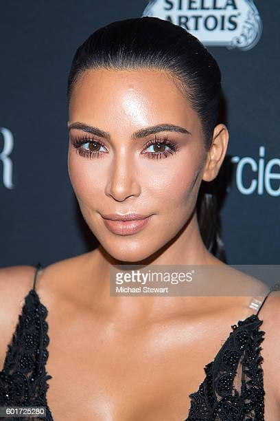 TV personality Kim Kardashian attends Harper's BAZAAR Celebrates 'ICONS By Carine Roitfeld' at The Plaza Hotel on September 9 2016 in New York City