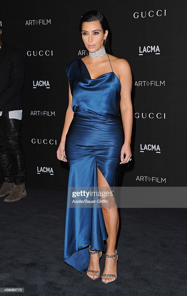 TV personality Kim Kardashian attends the 2014 LACMA Art + Film Gala Honoring Barbara Kruger And Quentin Tarantino Presented By Gucci at LACMA on November 1, 2014 in Los Angeles, California.