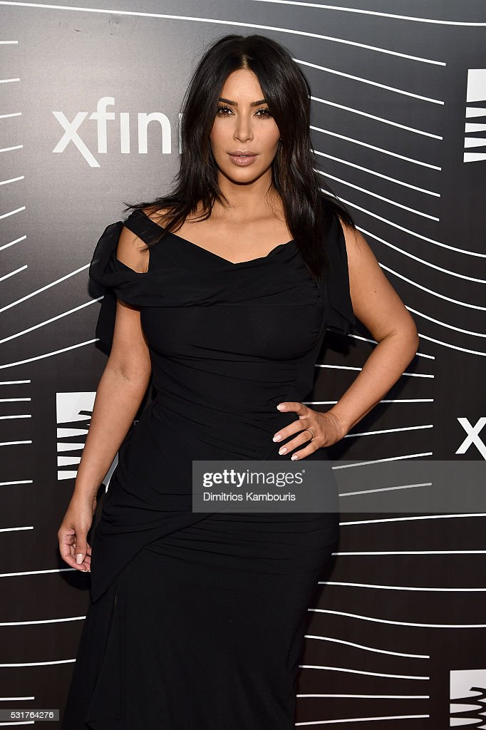 TV personality Kim Kardashian attends the 20th Annual Webby Awards at Cipriani Wall Street on May 16, 2016 in New York City.
