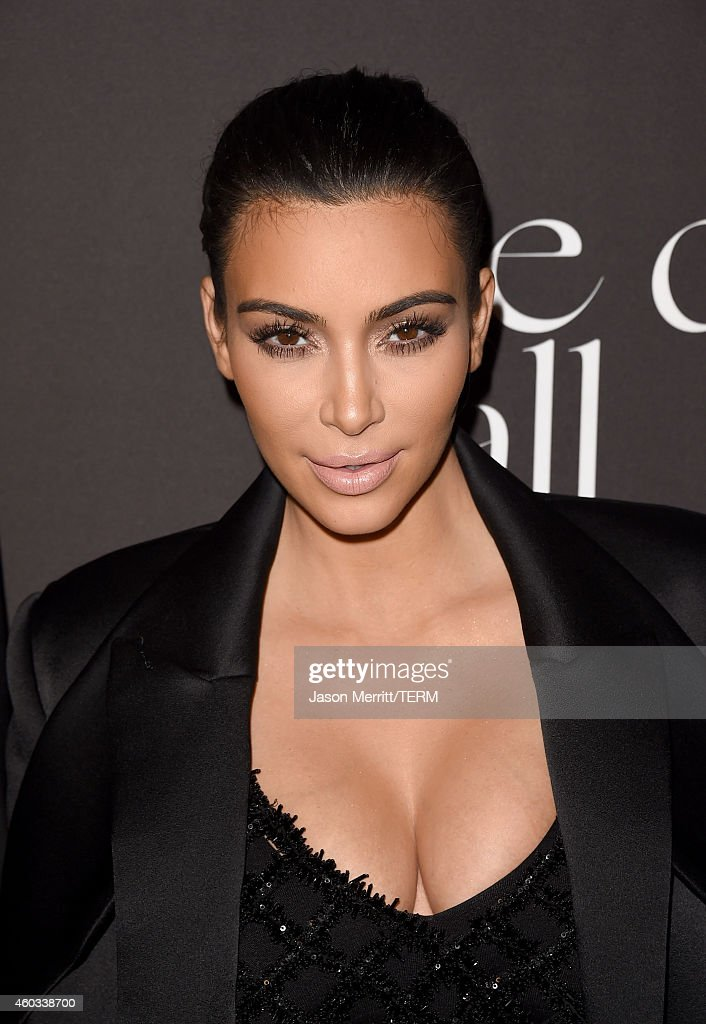 TV personality Kim Kardashian attends The Inaugural Diamond Ball presented by Rihanna and The Clara Lionel Foundation at The Vineyard on December 11, 2014 in Beverly Hills, California.