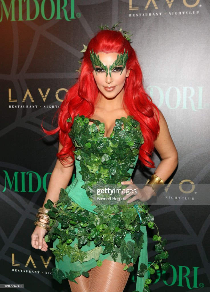 Midori Green Halloween Costume Party  sc 1 st  Getty Images : kim k halloween costumes  - Germanpascual.Com