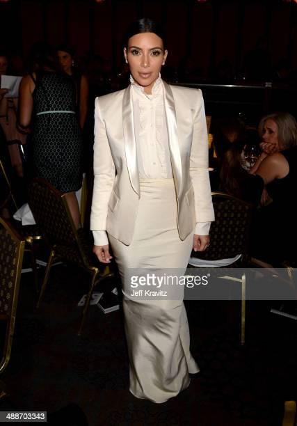 Personality Kim Kardashian attends USC Shoah Foundation's 20th Anniversary Gala at the Hyatt Regency Century Plaza on May 7, 2014 in Century City,...