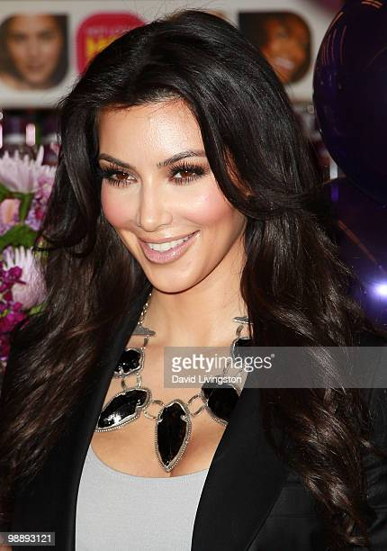 TV personality Kim Kardashian makes an instore appearance for QuickTrim at CVS/pharmacy on May 6 2010 in Marina del Rey California