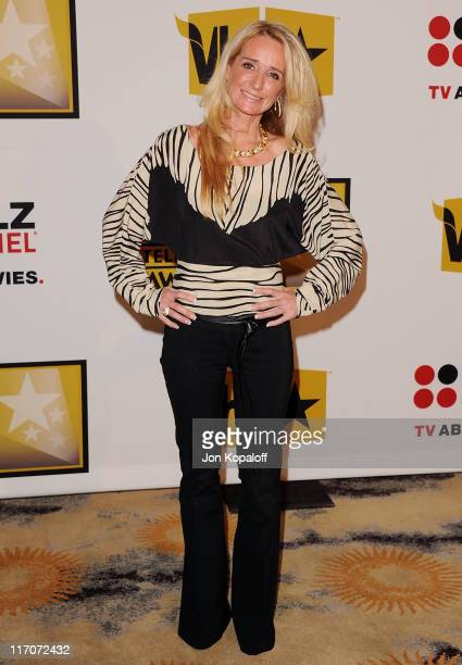 TV personality Kim Richards arrives at the Critics' Choice Television Awards Luncheon at Beverly Hills Hotel on June 20 2011 in Beverly Hills...