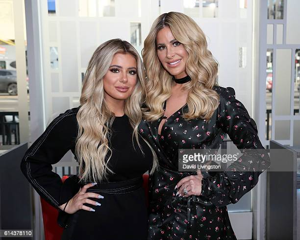 TV personality Kim Zolciak and daughter Brielle Biermann visit Hollywood Today Live at W Hollywood on October 13 2016 in Hollywood California