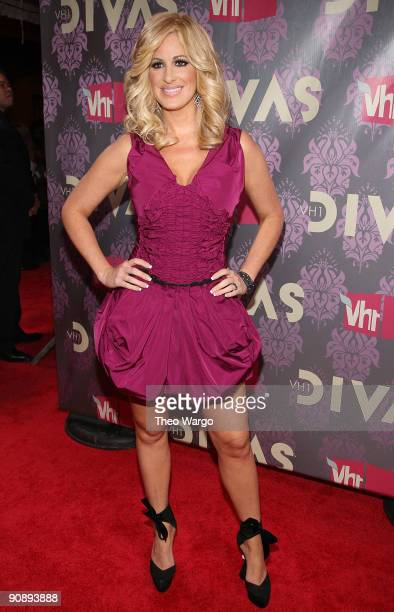 TV personality Kim Zolciak attends 2009 VH1 Divas at Brooklyn Academy of Music on September 17 2009 in New York City