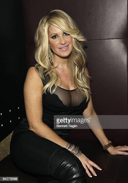 TV personality Kim Zolciak performs at Splash Bar on December 10 2009 in New York City