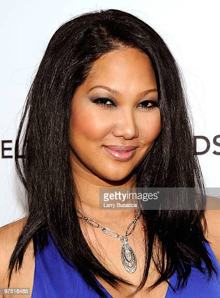 Personality Kimora Lee Simmons attends the 18th Annual Elton John AIDS Foundation Academy Award Party at Pacific Design Center on March 7 2010 in...
