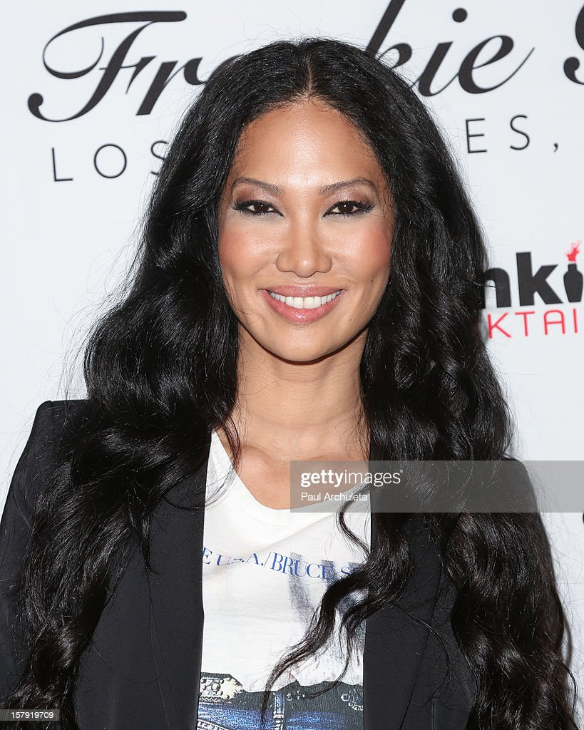 TV Personality Kimora Lee Simmons attends the Get Festive With Frankie B. and Kitson event at Kitson on Roberston on December 6, 2012 in Beverly Hills, California.