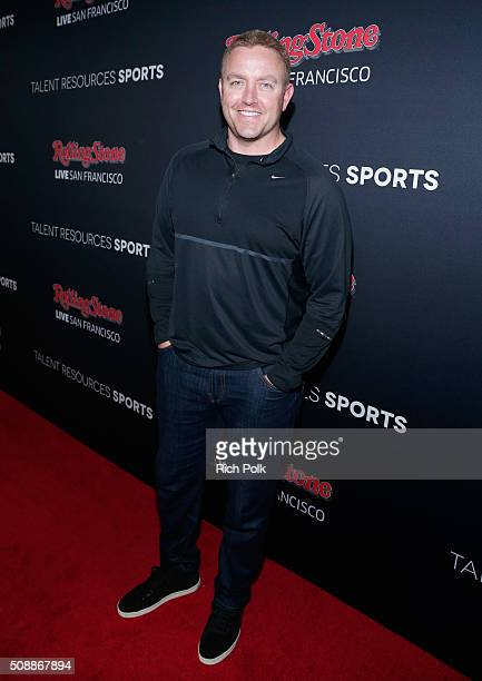 TV personality Kirk Herbstreit attends Rolling Stone Live SF with Talent Resources on February 6 2016 in San Francisco California